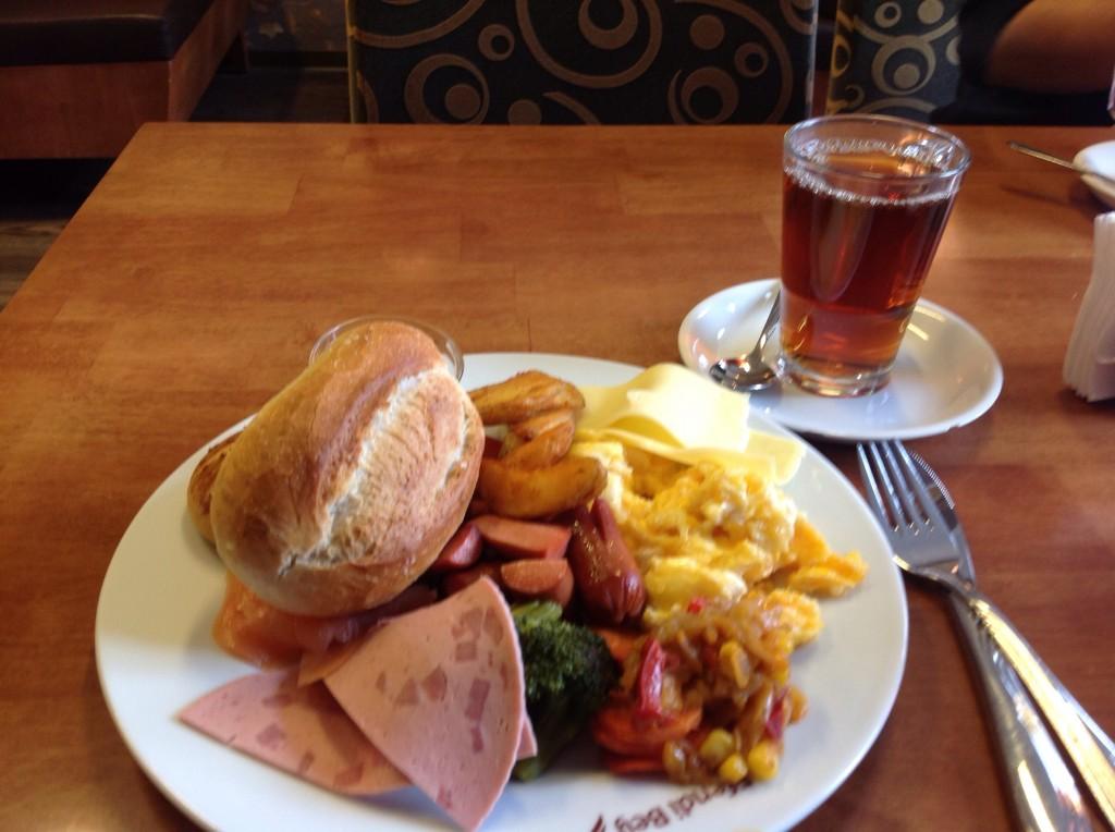Завтрак в Ганновере